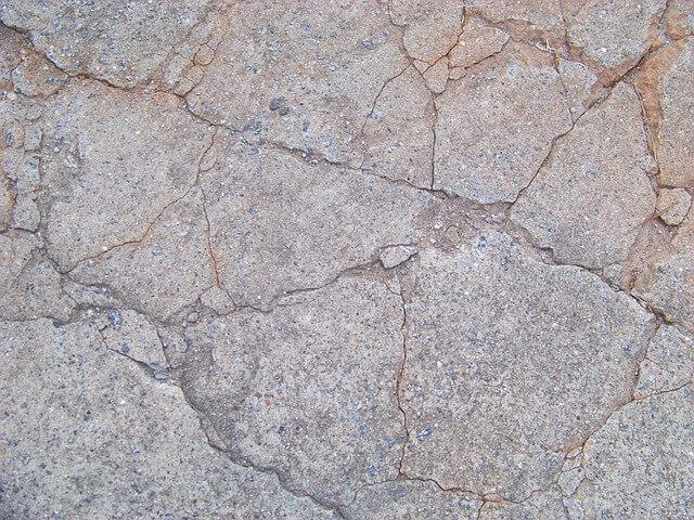 Patching Concrete Flooring in Garage