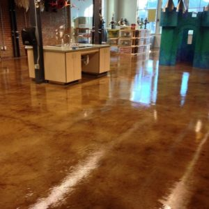 Washed Concrete Flooring Gilbert Az