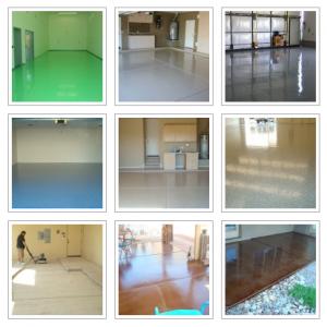 Polyurea and Polyaspartic Garage Floor Coatings