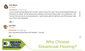 Why Choose Dreamcoat Flooring