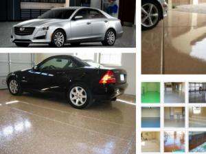 garage epoxy floor Chandler