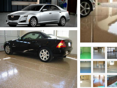garage epoxy floor Chandler