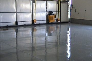 Commercial concrete floor coatings for Warehouses and Manufacturing Plants