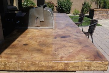 Stained Concrete Countertops Phoenix